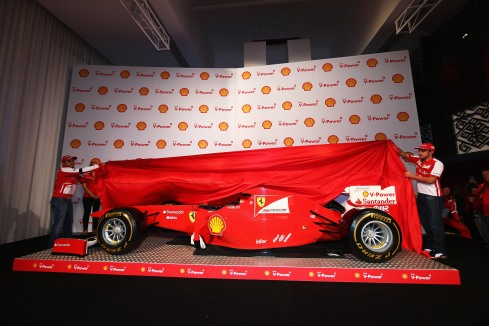 Shell at the Australian Grand Prix